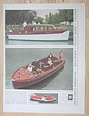 1937 Chris Craft Corp. With Cruisers & Runabouts