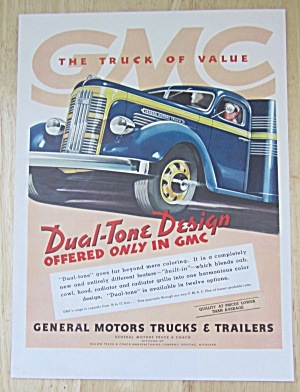 1937 General Motors Trucks with Dual Tone Design  (Image1)