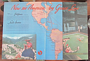 1937 Grace Line with Now See America  (Image1)