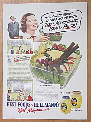 1938 Hellman's Mayonnaise with Fruitheart Salad (Image1)