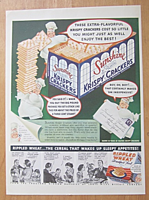 1938 Sunshine Krispy Crackers with 3 Little Chefs (Image1)