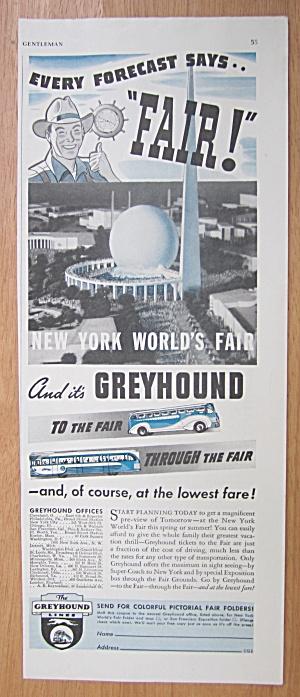 1939 Greyhound with New York World's Fair  (Image1)