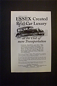 1927 Essex Super Six with People Driving in Car (Image1)