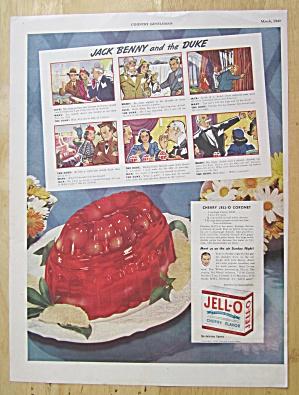 1940 Jell-O Gelatin Dessert with Jack Benny (Image1)