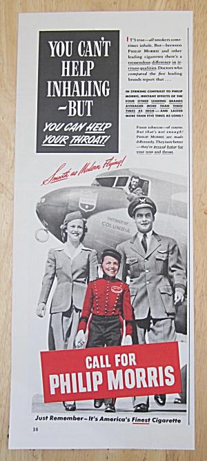 1942 Philip Morris Cigarettes w/ Philip Morris Bellboy  (Image1)