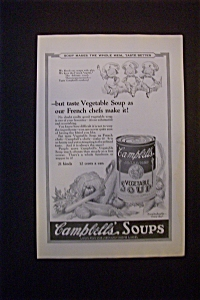 1924 Dual Ad: Campbell's Soup & Bell Telephone