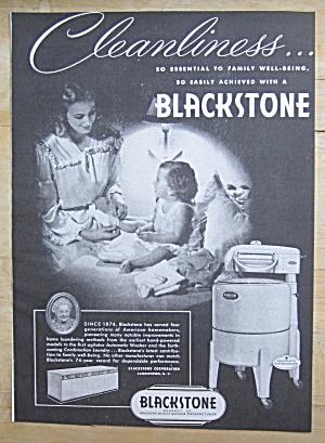 1948 Blackstone Washing Machine with Mom & Baby (Image1)