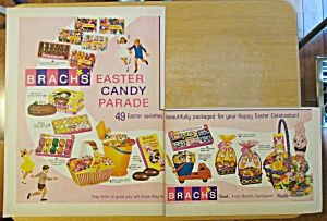 1965 Brach's Candy With The Easter Candy Parade