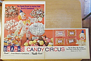 1965 Brach's Candy With The Candy Circus