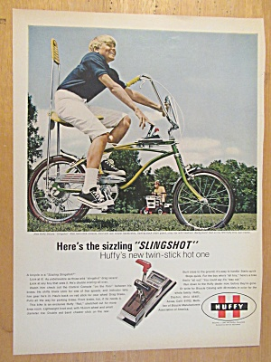 1969 Huffy Bikes With Huffy Slingshot