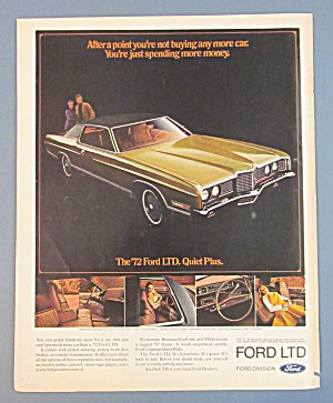 1972 Ford Automobile With The 1972 Ford Ltd