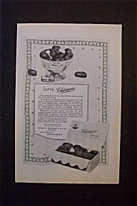 Vintage Ad: 1924 Whitman's Chocolates