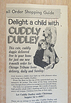 1964 Delight A Child With Cuddly Dudley