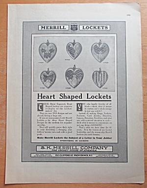 1913 Merrill Lockets with Heart Shaped Lockets  (Image1)