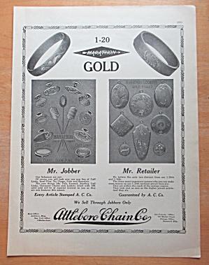 1913 Attleboro Chain Co with Marathon Gold  (Image1)