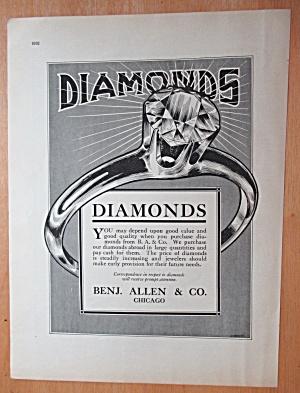 1913 Benjamin Allen & Company with Diamonds  (Image1)