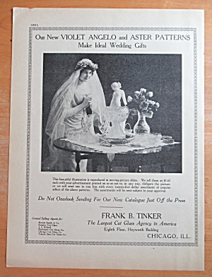 1913 Frank B Tinker With Violet Angelo & Aster Patterns