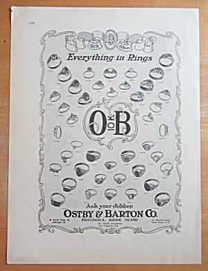 1913 Ostby & Barton Company with Rings  (Image1)