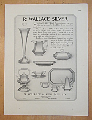1913 R Wallace & Sons with Wallace Sheffield  (Image1)