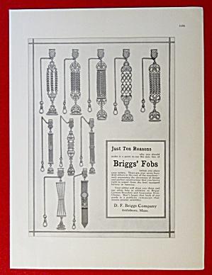 1913 D. F. Briggs Company with Briggs' Fobs  (Image1)