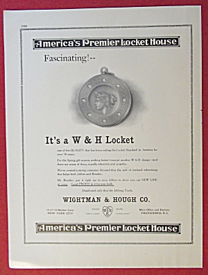 1913 Wightman & Hough Company with W & H Locket  (Image1)