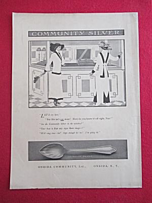1913 Oneida Community Silver with Georgian Design  (Image1)