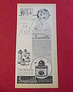 1934 Irresistible Perfume with Lovely Woman (Image1)