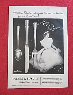 1951 Holmes & Edwards Silverplate with May Queen (Image1)