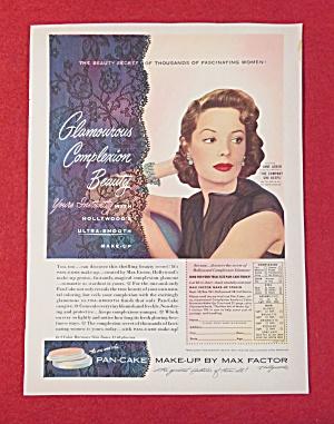 1951 Max Factor Pan Cake Make Up w/ Jane Greer (Image1)