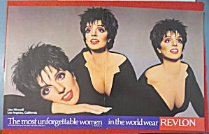 1987 Revlon Make Up with Liza Minnelli (Image1)