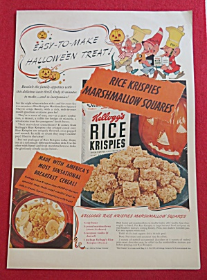 1941 Rice Krispies Cereal with Marshmallow Squares (Image1)