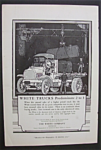 1916 Dual Ad: White  Trucks & Gruen Watches (Image1)