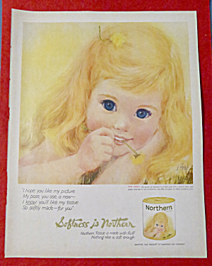 1962 Northern Tissue with Lovely Little Blond Girl (Image1)