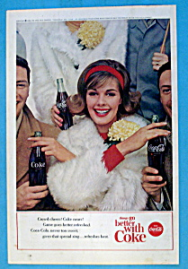 1963 Coca Cola (Coke) with Woman with Arms Crossed (Image1)