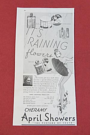 1938 Cheramy April Showers with Woman & Umbrella  (Image1)