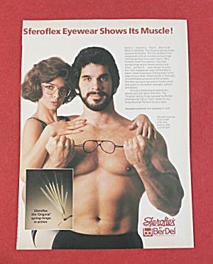 1984 Steroflex Eyewear with Body Builder Lou Ferrigno  (Image1)