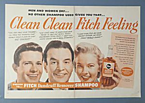1951 Fitch Dandruff Remover Shampoo w/Men & Woman (Image1)