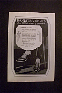 1926 Banister Shoes With Pair Of Black Shoes