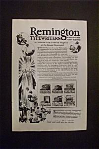 Vintage Ad: 1926 Remington Typewriters (Image1)