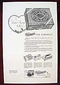 Vintage Ad: 1926 Whitman's Chocolates