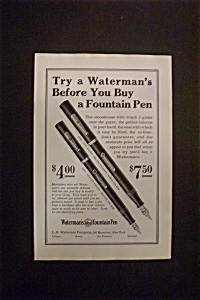 1926  Waterman's  Fountain  Pen (Image1)