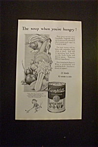 1925 Dual Ad: Campbell's Soup & American Telephone