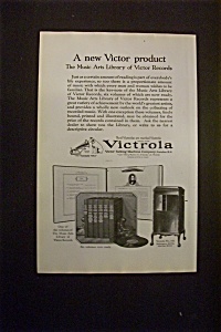 Vintage Ad: 1925 Victor Talking Machine Company (Image1)