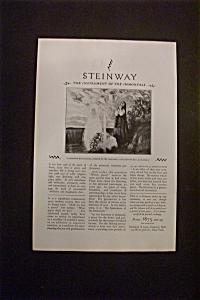 Vintage Ad: 1927  Steinway (Image1)