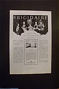 1927 Frigidaire with Thanksgiving Dinner (Image1)