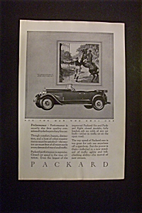 1926 Packard with a Great Model of a Packard (Image1)