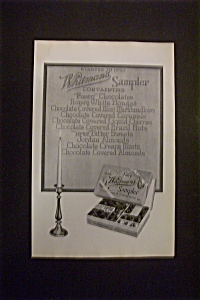 Vintage Ad: 1924 Whitman's Sampler