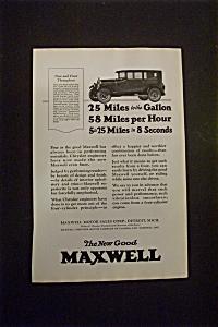 1925 Dual Ad: Maxwell Motors & Dodge Brothers (Image1)