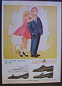 1964 Lazy Bones Shoemakers with Boy & Girl Hugging (Image1)
