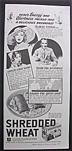 1936 Shredded Wheat With Claire Trevor & James Dunn